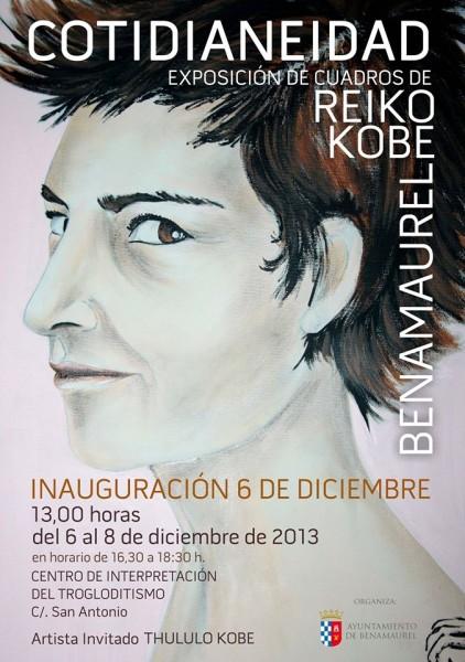 Exposición Reiko Kobe Benamaurel
