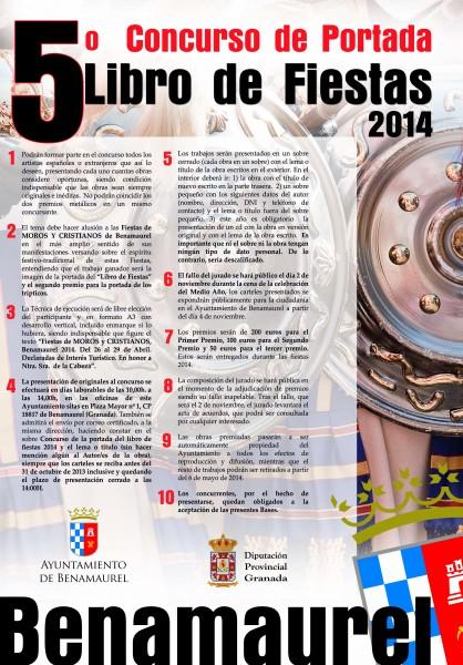Cartel Benamaurel Bases 2014
