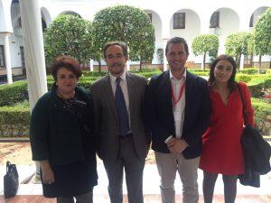 Reunión alcalde Benamaurel y Consejero Fomento