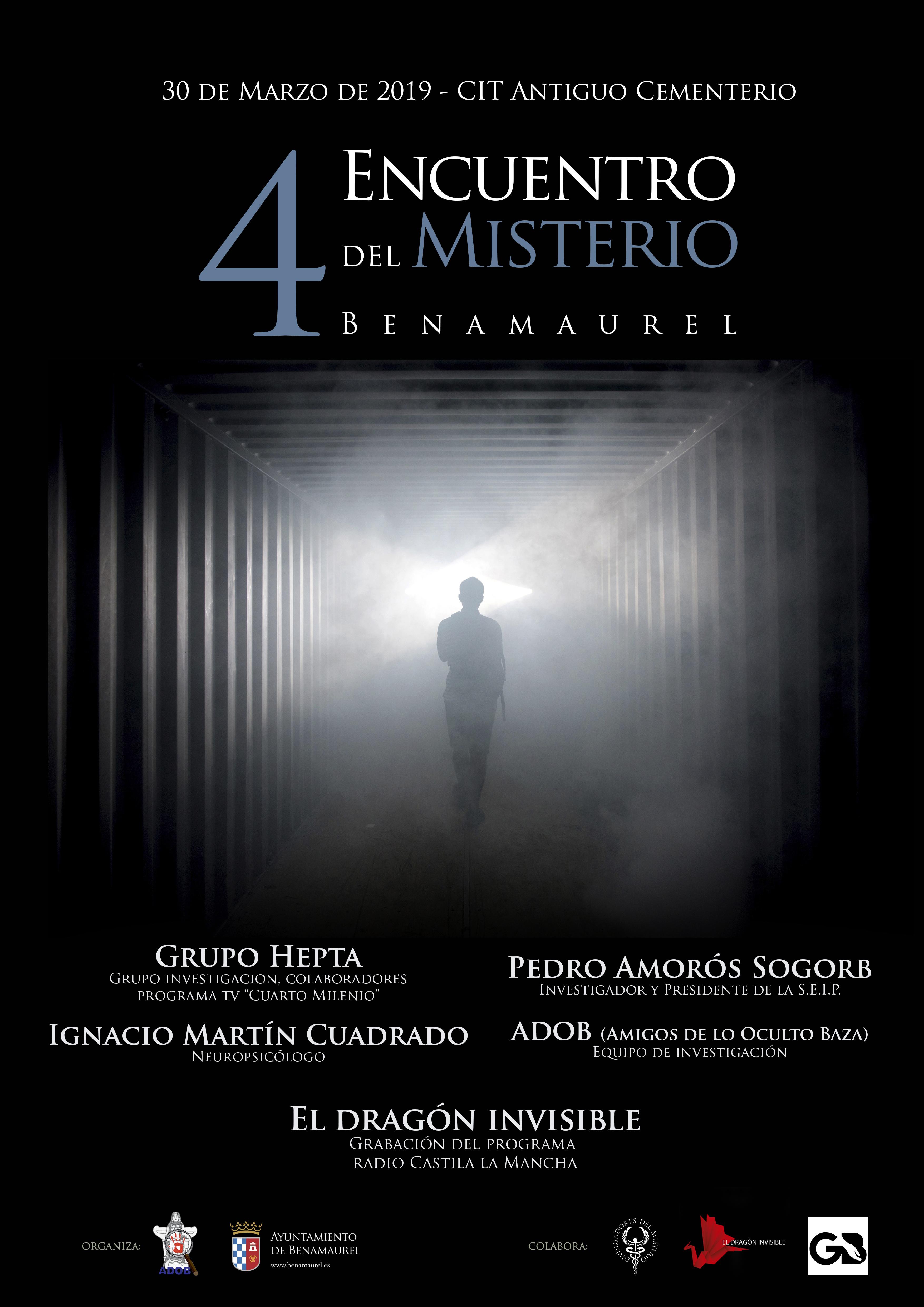 Jornada del Misterio en Benamaurel | Ayuntamiento de Benamaurel